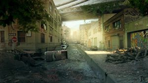 Destroyed City by Nacho3