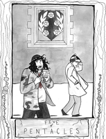 TGWTG Five of Pentacles by Probable-Futures