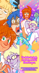 Space School Promotional Bookmark 2018 by DarkChibiShadow