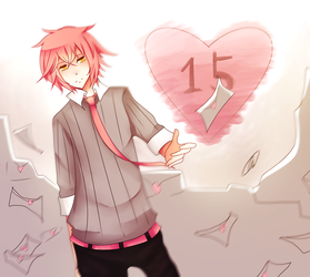 A Clingy Boy Sticking For 15 Years by Ai-Nee