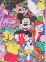 A Disney Collage by bautistal16