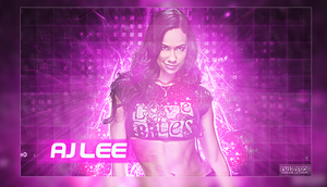 AJ Lee by BeliveInTheShield
