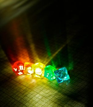 Dice Light 6 by Mortello-Prints