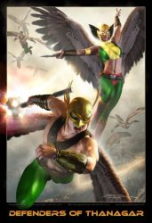 DEFENDERS of THANAGAR by DouglasShuler