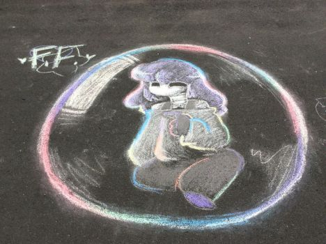 bubble (i made this on a road :D) by FanoFixedsys137