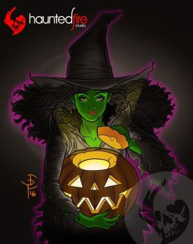 Halloween witch 2016 by cyclonaut