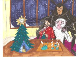 Kubo and the Two Strings Christmas by Ready2Create