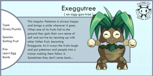 Evolution of Exeggutor