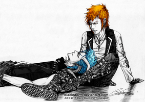 BLEACH: 6/15 -The Hunter and the Incubus- by blackstorm