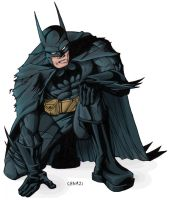 Le Batman by chamzi