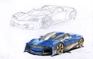Ray and Razor concept cars by STH-pl