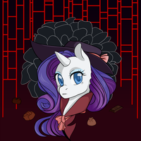 Detective Rarity by Beeffii
