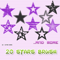 Stars Brushes by star-mari