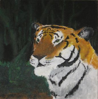 Tiger Painting by Dog-master