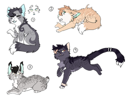 :4/4 open: Adopt batch #1 by Corvidopts
