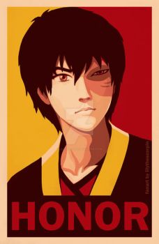 Zuko - HONOR by lilythescorpio