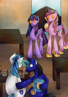 COMM: Drunk Stallions by MadBlackie