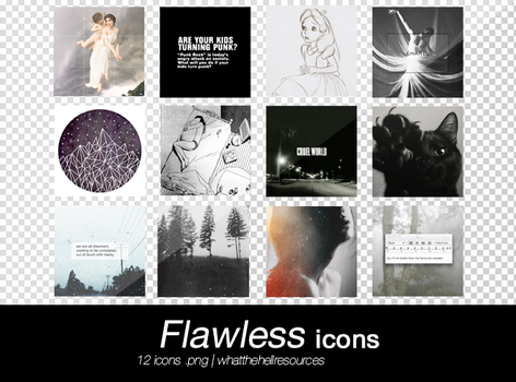 Flawless | ICONS by WhatTheHellResources
