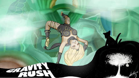 Gravity Rush 1 by Anzthem