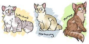 here's some cats by chaiteaa