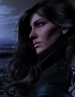 Yennefer of Vengerberg by AnnaPostal666