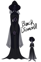 ref - black diamond and her pearl by sakurablitz