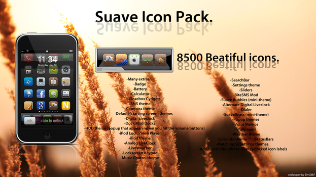Complete Suave Pack 8500 Icons by ChikenArt