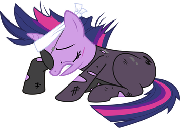Twilight Time Traveled by Hourglass-Vectors