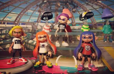New Splatoon Rement figures by avaneshop
