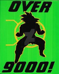 Over 9000! by DuctileCreations