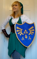 Link Cosplay WIP (Pic 2) by AverageCosplays