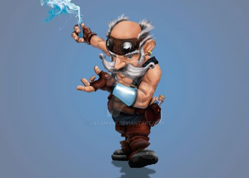 Gnome Concept by jagama42