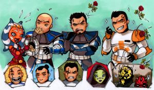 My clone wars babies by MelHell84