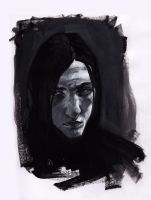 Snape, 1980 by AnCatDubh