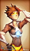 Tracer - Overwatch by Elzandor