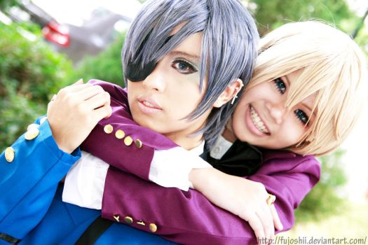 Ciel and Alois -Happy moments by fujoshii