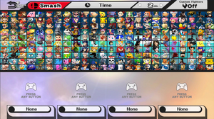 Super Smash Bros. Beyond All Characters with DLC by NoahLC