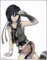 Yuffie by Lady-Owl