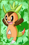 Chespin by SuriiSky