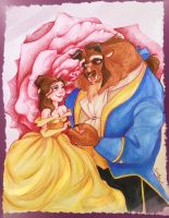 Belle and Beast by Blossom525