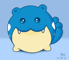 Cute Spheal by Elee-chan