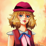 Serena Portrait by GreatPeace
