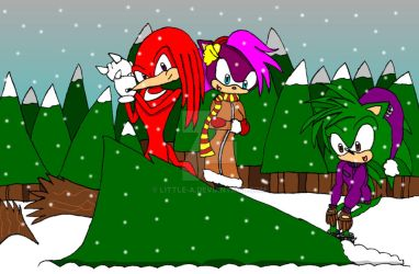 Sonic Christmas Story Part 1 by Little-A