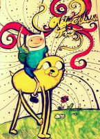 Adventure time by AGraphicGeek