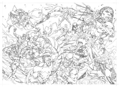 Brotherhood Double Page Spread Commission by pencilsandstrings