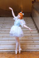 Princess Tutu cosplay by palecardinal