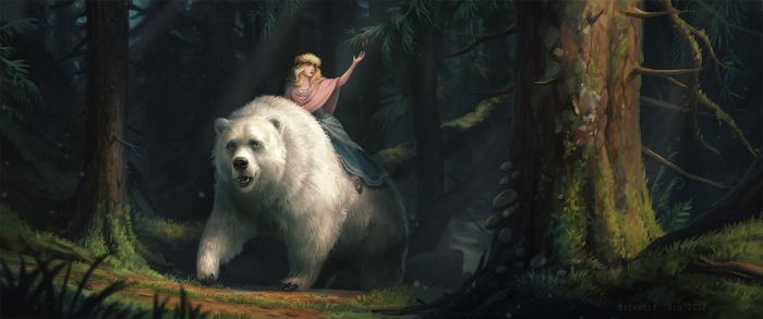 White Bear King Valemon by Manweri
