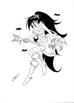 Marceline, The Vampire Queen (FanArt) by DMXIII