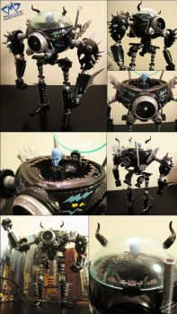 Megamind Mecha Repaint by furinchime