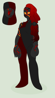 Su oc: Magma (Obsidian) by PanSearedBiscuits